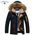 JUNGLE ZONE Men's brand Down Jackets 2016 Winter Keep Warm Coat 90% White Duck Down Jacket Coat Casual  Men's Down Jacket YR518