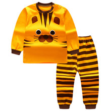 Autumn Baby Clothing Sets For Girls Boys Cotton Long Sleeve Top+Pants Kid Children Baby Girl Boy Clothes Underwear Pajamas DS19