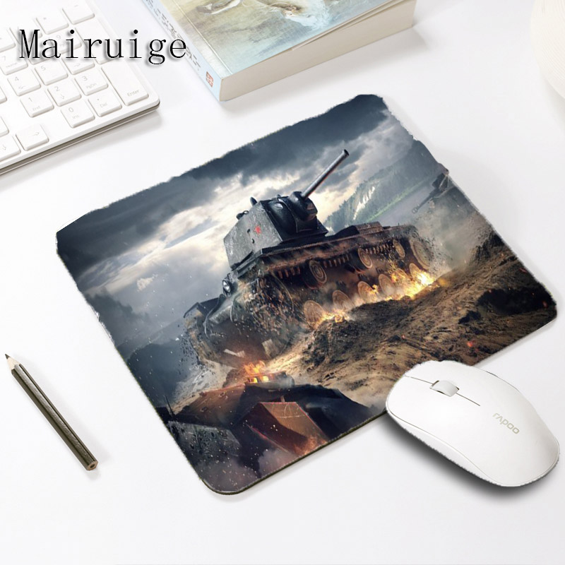 Mairuige World of Tanks Gaming Mouse Pad Rubber Mousepads Laptop Computer Notebook LOL Mousemats Size For 18*22CM Or 29*25cm ...