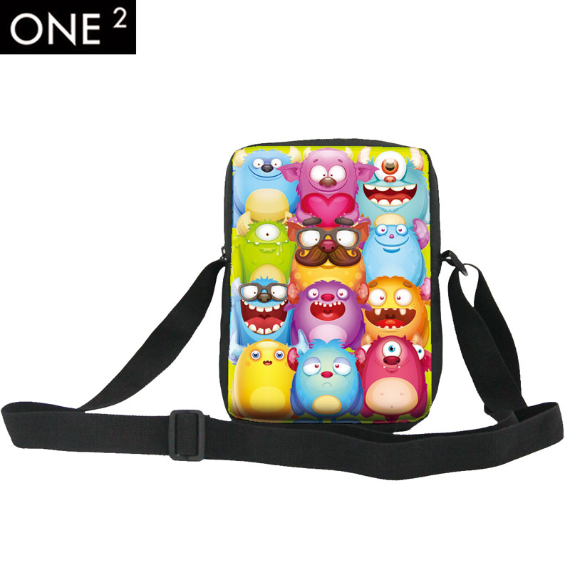 ONE 2 Hot Sale Kids Cute Cartoon Messenger Bag For Girl Cross Body Bag My Little