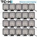 Comercio al por mayor TC-X 20 Unids/caja 48 W Luces de Trabajo LED Super Power Offroads 4wd 24 V Camiones Tractores Remolque Luces Mineras buena Calidad