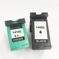 Vilaxh 140XL Compatible cartucho de tinta HP 140 141 XL para DeskJet serie D4263 D4363 Photosmart C5283 C4283 C4483 impresora