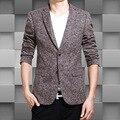Trajes De Hombres  Men's Fashion Temperament Bomber Jacket Men Latest Coat Design Men Winter Suit Plus-size Leisure Brand Suit