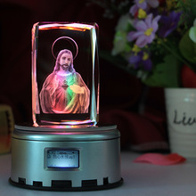 Христианские украшения для дома, украшение Иисуса, Кристальные резные подарки, миссия, ремесла, канун Рождества, рождественские христианские статуи