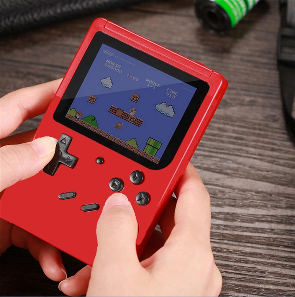 Unterhaltungselektronik Klassische Handheld Spiel Spieler Konsole Retro Elektronische Gamepad Box 3,0 Tft Lcd 8 Bit Gebaut In 400 In 1 Tv Av Out Kind Junge Geschenk