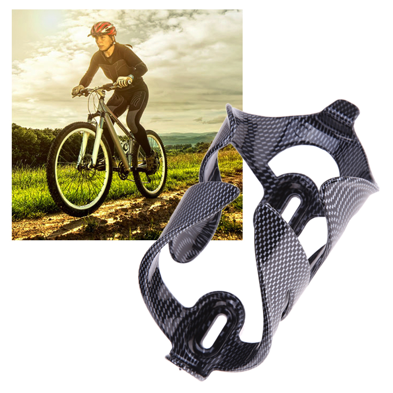 Carbon Fiber Bicycle Cycling Water Bottle Cage Patterns Mountain Bike Drink Bottle Holder Supporter 600-750ML bicicleta 750ml 1000ml bicycle water bottle mountain bike city bike outdoor cycling water bottle with holder cycling accessories