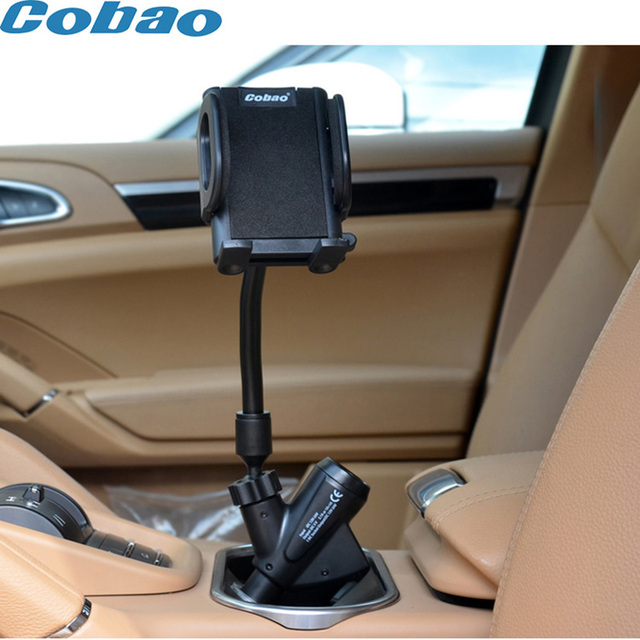 Universal Dual USB Car Cigarette Lighter Charger Mount Holder Stand for GPS iPod samsung galaxy s6 meizu m2 note Phone