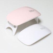 [Super Deal]SUNmini 6W  LED Lamp Nail Dryer,Portable Mini Rainbow Shaped USB LED Lamp Nail Dryer Curing  45s/60s Timer