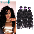 4 Pcs/Lot Cambodian Deep Wave Hair Human Hair Extensions Natural Color Cambodian Virgin Hair Deep Curly Wave Free Shipping Cheap