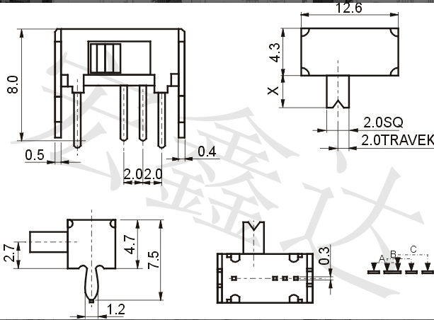dp3t toggle switch wiring diagrams