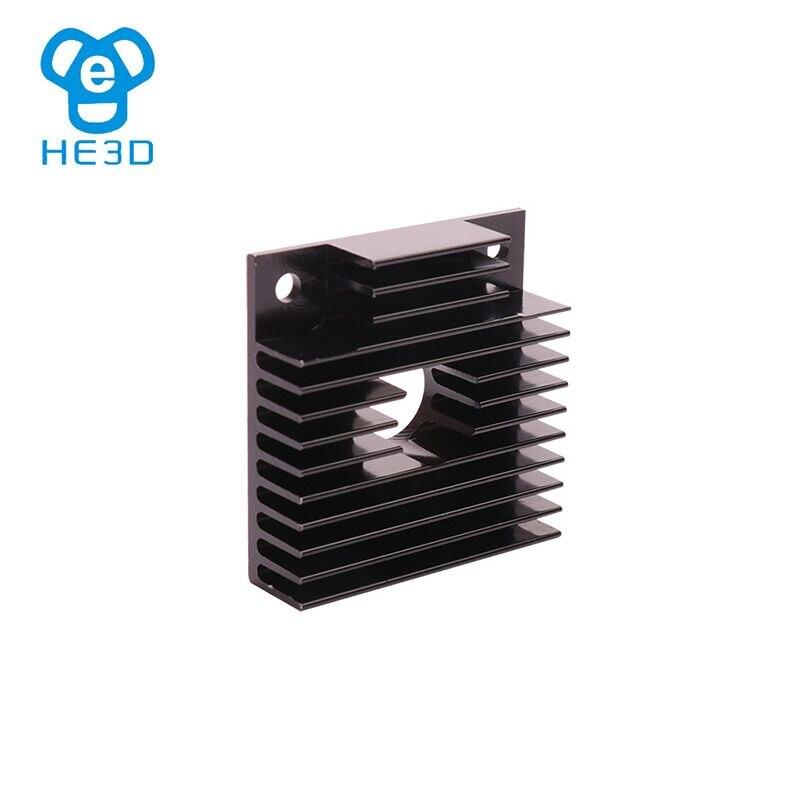 HE3D 2pcs MK8/MK7 extruder heat sink 40X40X11mm reprap 3D printer part