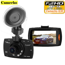 "Best Selling Car Cámara G30 2.7 ""full hd 1080 p del coche dvr motion night vision detección g-sensor registrador en el tablero de vídeo"