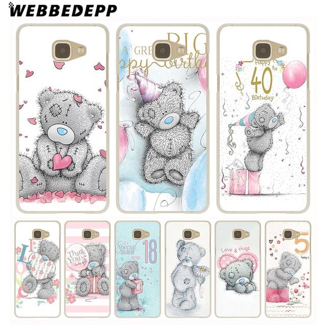 Webbedepp Me To You Bear Style Thin Hard Case For Galaxy A3 A5 2015