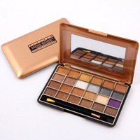 Professional Eye Makeup Miss Rose 24 Color Natural Shimmer Eyeshadow Palette Cosmetics NuProfde Eye Shadow Make