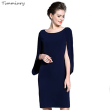 Timmiury Women Summer Dress Elegant Batwing Sleeve Sexy Party Dresses 2017 Summer Tops O-neck Midi Dress Womens Office Plus Size