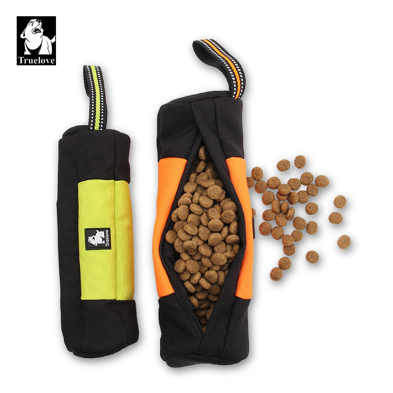 Mangimi Truelove Dummy Dog Pet Treat Bag Ttente Training Carry Tratta Del Cane Giocattoli