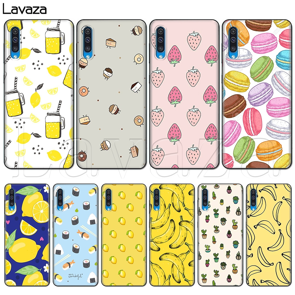 Lavaza Lemon Banana Cactus Strawberry Sushi <font><b>Case</b></font> for <font><b>Samsung</b></font> <font><b>Galaxy</b></font> A10S A20S A30S A40S A50S Note 10 Plus <font><b>A70</b></font> M10 M20 M3 image