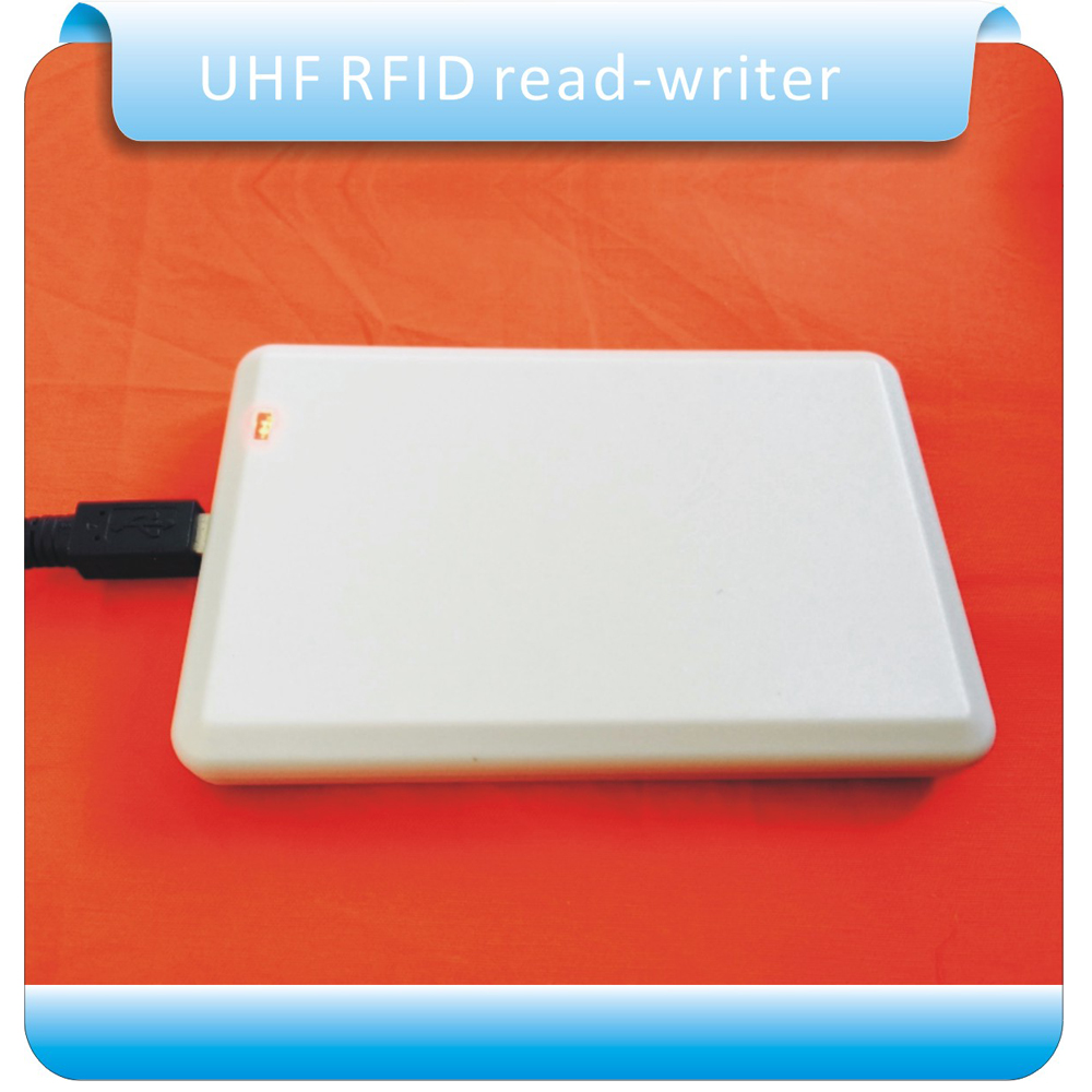 Free shipping 902-928M usb reader writer UHF rfid writer for access control system with sample card test