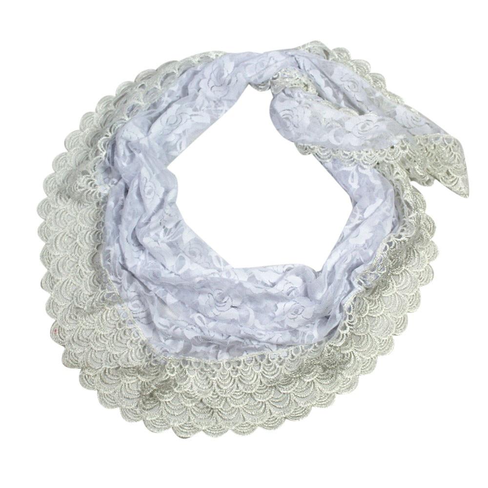 Fashion Women Lady Long Lace Rose Flower Triangular Mantilla   Scarf     Wrap   Shawl Warm   Wrap   Shawl soft   scarves   echarpe hiver femmeA9