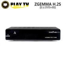ZGEMMA H.2S TV Satélite Caja Del Receptor Doble Sintonizador de DVB-S2 Enigma2 Linux OS 2000 DMIPS Procesador CPU BCM7362 Set Top caja