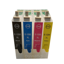 T1291 Refillable Ink Cartridge For Stylus SX420W SX425W SX525WD SX620FW BX320FW BX305FW 525WD BX625FWD printer ARC chip