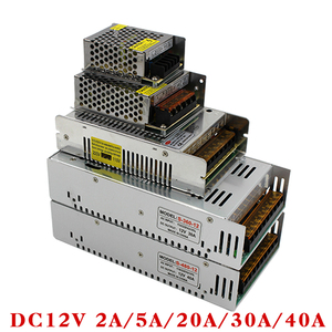 Image 3 - Блок питания, для светодиодной ленты, с 85 265/110/220 В перем. тока на 12/24/36/48 В пост. тока, 1/2/3/5/10/15/20/30/40/80 А