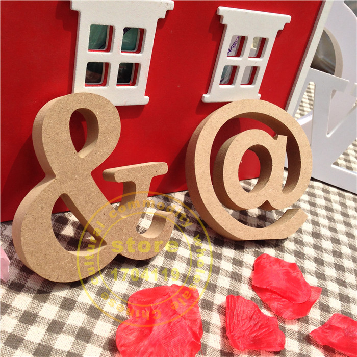 10cm real wood letter christmas solid wooden letters decoration fashion decoration wood color letter wedding decoration