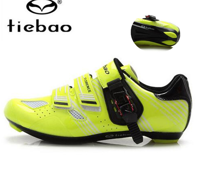 ФОТО Tiebao Cycling Shoes 2017 Bicycle Racing Sports Road zapatillas deportivas hombre Athletic Bike women sneakers men bike boots