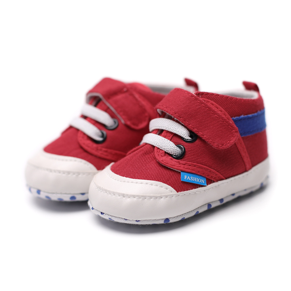 New Baby Toddler Shoes 0 - 6 - 9 - 12 Soft Baby Shoes Indoor Baby Shoes GXJ ...