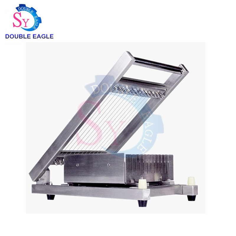 Wholesale Price 304 Stainless Steel 30*30cm Cutting Area Chocolate Guitar Cutter/manual Chocolate Cutting Machine