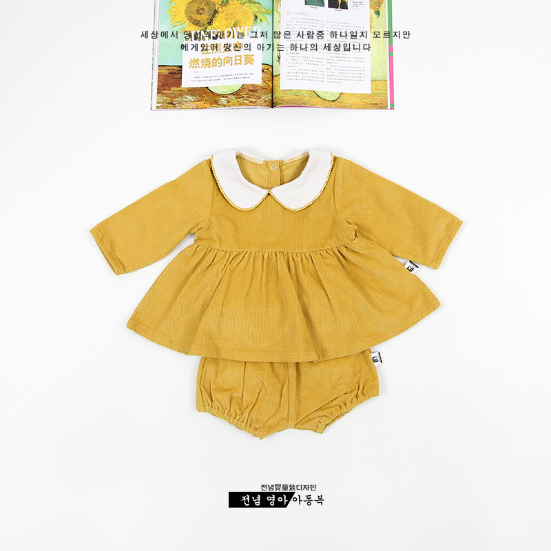ФОТО Hot sales Fashion Baby Girls 2Sets 6m-3y Toddlers 100% Cotton Clothes Kids Princess Tops+Shorts Suits Cute Child Party Outerwear