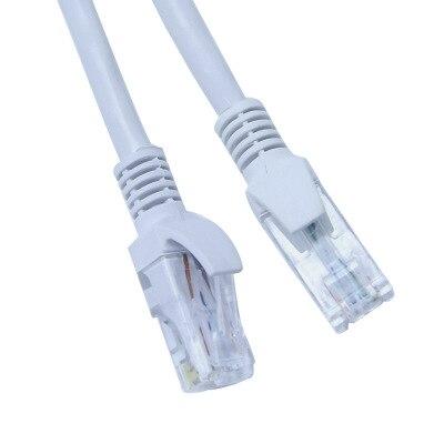 Six types de câble réseau fini cat6 ordinateur routeur réseau jumper wzl01