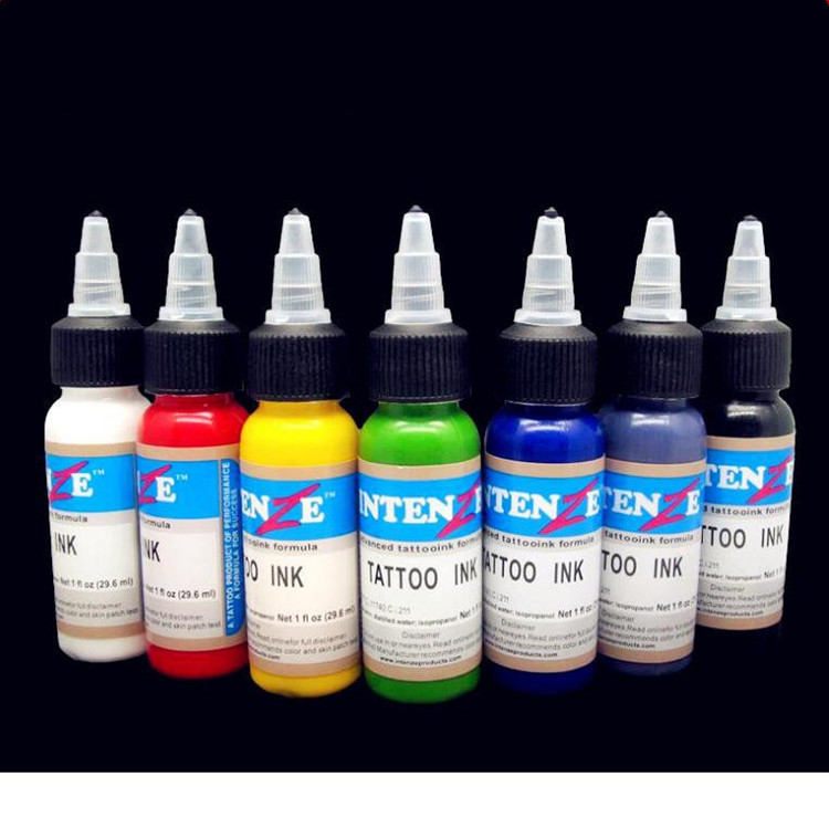 Professional Tattoo Ink 14 Colors Set 1oz 30ml/Bottle Tattoo Pigment Kit Fashion Makeup cosmetics wholesale high quality 30ml professional tattoo ink 14 colors set 1oz 30ml bottle tattoo pigment kit fashion makeup cosmetics
