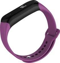 A16 монитор сердечного ритма Смарт фитнес-трекер Спорт Браслет Шагомер Bluetooth наручные часы smartband для iOS телефона Android