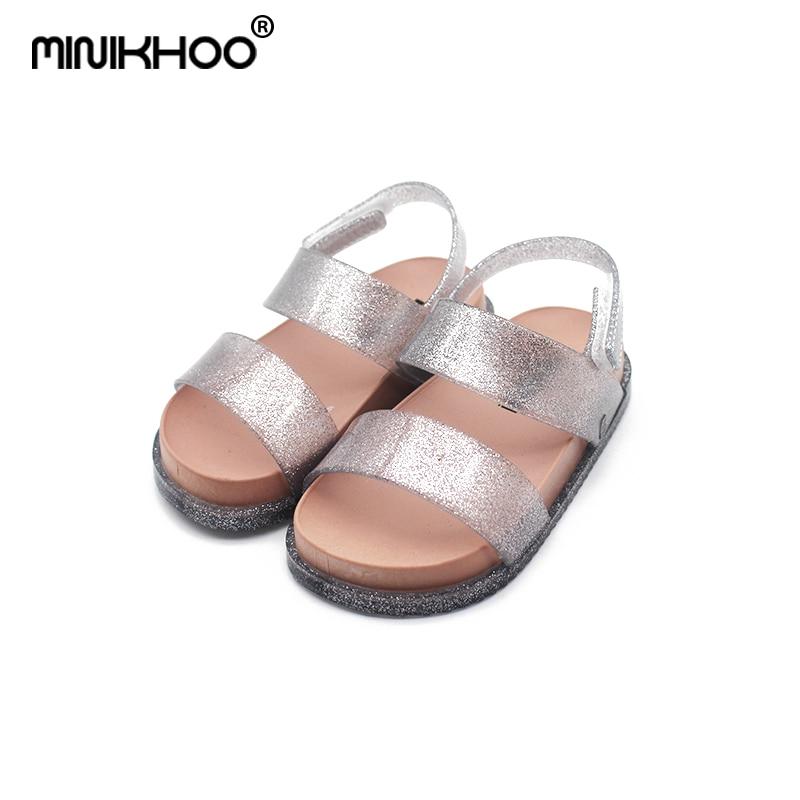 Mini Melissa Brands Sandals 2018 New Fashion Girl Sandals