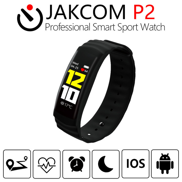 JAKCOM P2 Professional Smart Sport Watch Hot sale in Smart watches as Remote Control Touch Screen heart Rate Blood Pressure