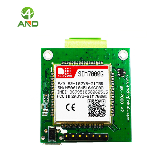 US $26 5 |LTE CAT M1 NB IoT Module SIM7000G breakout,global Band LTE  SIM7000G kits 1pc-in Integrated Circuits from Electronic Components &  Supplies on