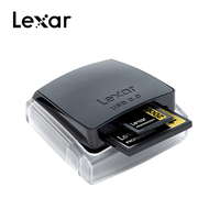2019 Promotion Lexar Professional 2 in 1 High speed USB 3.0 Dual Slot Reader For Sd Card/Compact Flash CF Memory Card Reader