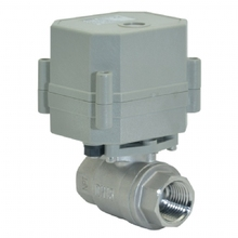 New 1 DN25 SS304 dc9~24v Modulating Ball Valve,Motorized Regulating Valve with Feedback Signal