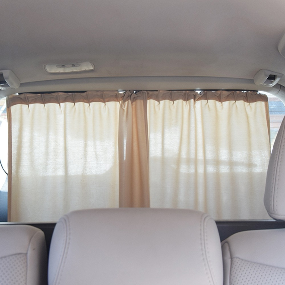 ONEWELL Rear Window Car Sun Shade Car Styling Car Window Curtain UV Protection Sunshade Auto Back Window Sun Shield Cover