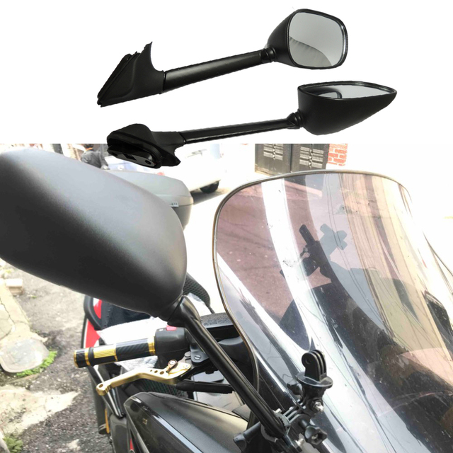 For Yamaha T-max 500 Motorcycle Mirror Rearview Side Mirrors XP 500 TMAX 500 T-MAX500 2008 2009 2010 2011 Motorcycle Part E-mark