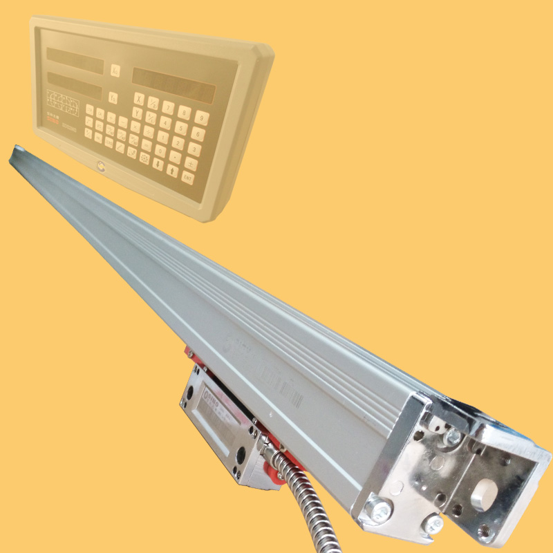 KA600 series reinforced linear displacement sensor, digital grating ruler, optical ruler resolution 5um high precision linear displacement grating ruler ttl signal measurement distance 50mm 600mm reset precision 1um
