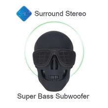 Skull Head Bluetooth Speaker