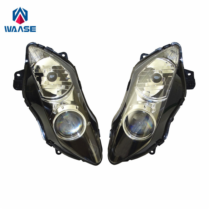 waase YZF R1 07 08 Front Headlight Headlamp Head Light Lamp Assembly For Yamaha YZF R1