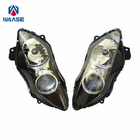 waase YZF R1 07 08 Front Headlight Headlamp Head Light Lamp Assembly For Yamaha YZF R1 2007 2008