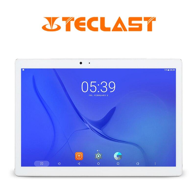 Teclast Master T10 10.1 Inch Tablet PC Android 7.0 MTK8176 Hexa Core 1.7GHz 4GB RAM 64GB ROM Fingerprint Sensor Dual WiFi OTG