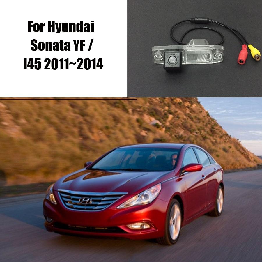 Thehotcakes rearview camera for hyundai sonata yf i45 2011 2014 backup parking camera