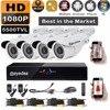 Russia Moscow Eyedea 8 CH HDMI DVR Recorder AHD 1080P 2 0MP 5500TVL CMOS 36 LED
