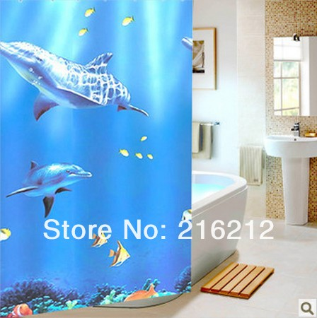 High Quality Dolphin Shower Curtains-Buy Cheap Dolphin Shower ...