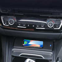 Car QI wireless charger charging pad phone holder dock station for BMW F30 F31 F32 3GT F34 F36 for iPhone 8 X XS samsung s9